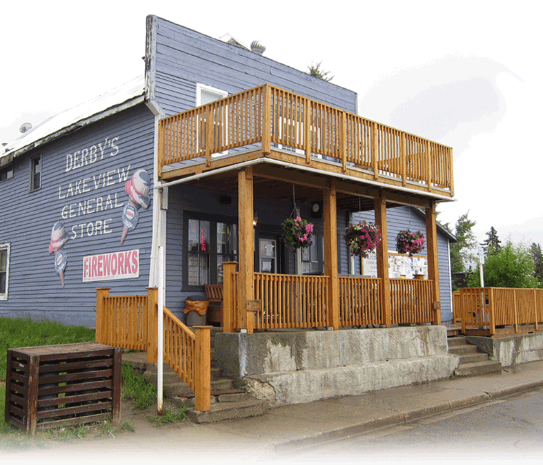 Derby's Lakeview General Store